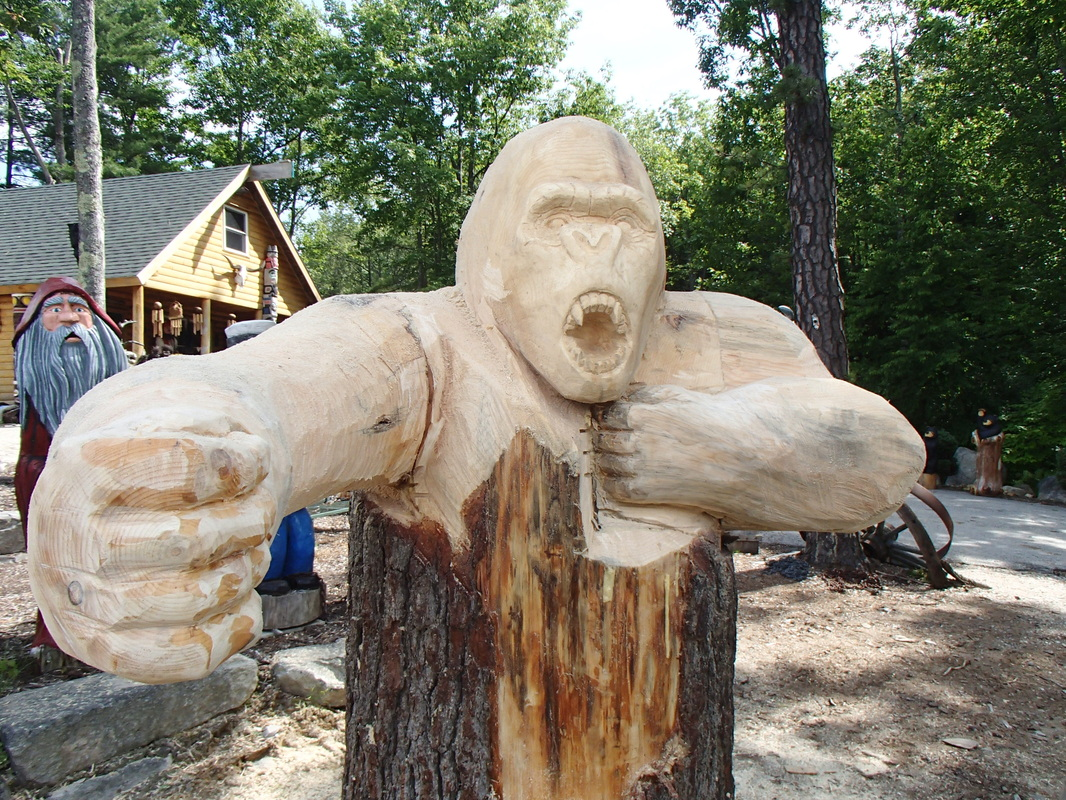 The birth of kong chainsaw carving forum arbtalk